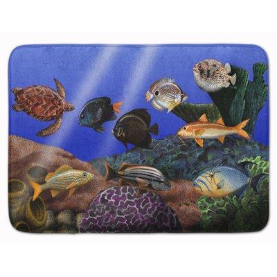 Undersea Fantasy 1 Memory Foam Bath Rug