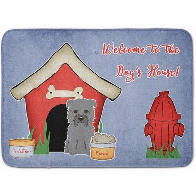 Dog House Glen of Imal Memory Foam Bath Rug Color: Gray