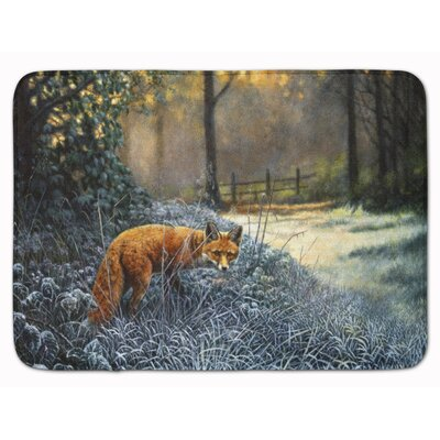 Fox on the Hunt Memory Foam Bath Rug