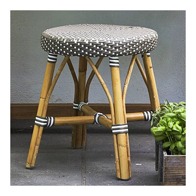 Affaire 18.1'' Bar Stool Color: Cappuccino with White Dots