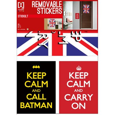 Imagicom Keep Calm Carry on Wall Sticker