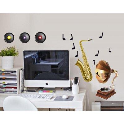 Imagicom Musical Instruments Wall Sticker