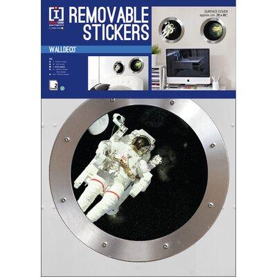 Imagicom Porthole Space Wall Sticker