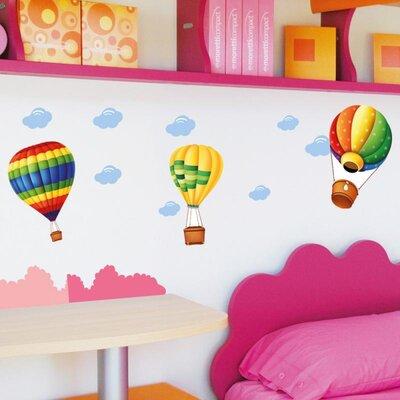Imagicom Hot Air Balloon Wall Sticker