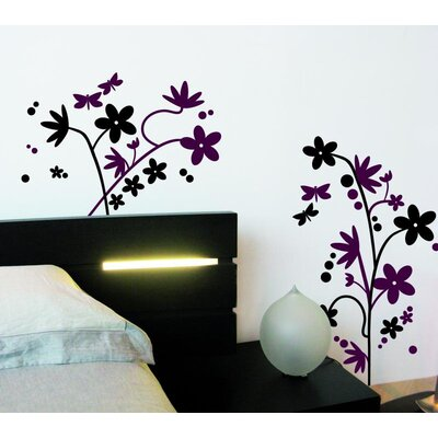 Imagicom Flower Decoration Wall Sticker
