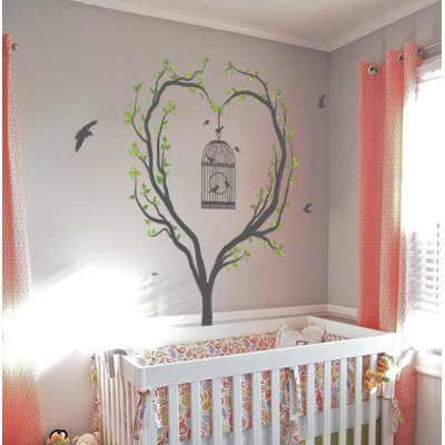 Imagicom Heart Tree Wall Sticker