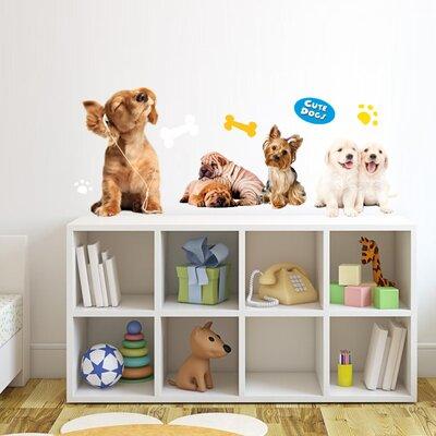 Imagicom Cute Dogs Wall Sticker