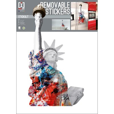 Imagicom Liberty Statue Wall Sticker