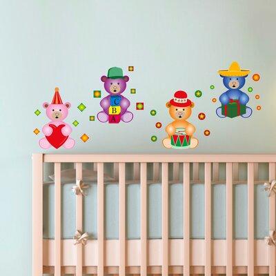Imagicom Teddy Bears Wall Sticker