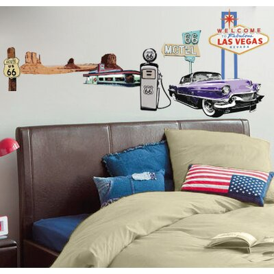 Imagicom Route 66 Wall Sticker