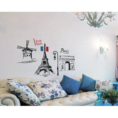 Imagicom Paris Wall Sticker