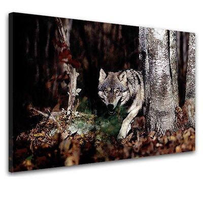 LanaKK Wolf Photographic Print on Canvas