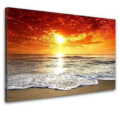 LanaKK The Sea Photographic Print on Canvas