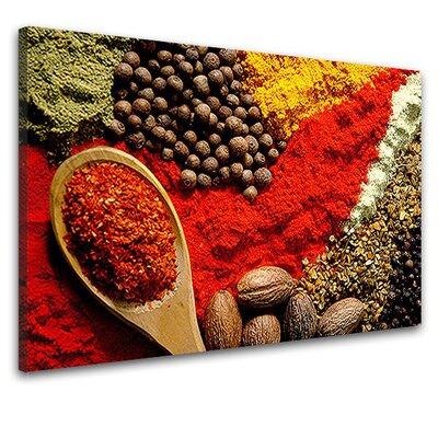 LanaKK Spices 3 Piece Photographic Print on Canvas Set