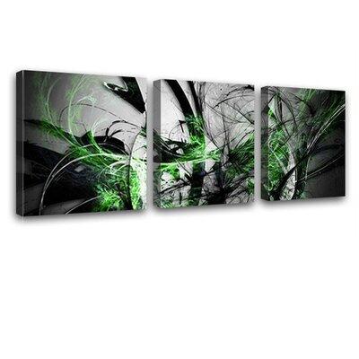 LanaKK Grow 3 Piece Graphic Art on Canvas Set