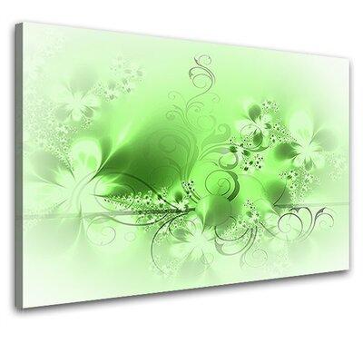 LanaKK Blossom Graph Graphic Art on Canvas