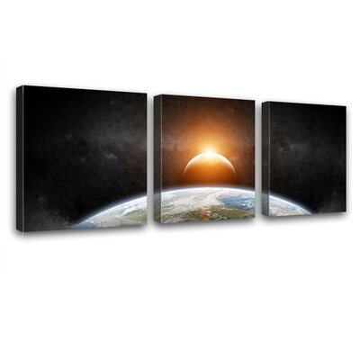 LanaKK Sunshine 3 Piece Photographic Print on Canvas Set