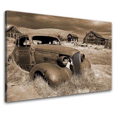 LanaKK Barn Treasure Nostalgia Photographic Print on Canvas