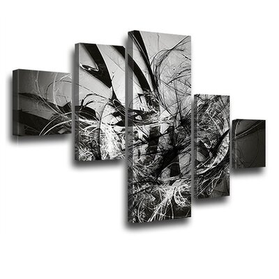 LanaKK Grow 5 Piece Graphic Art on Canvas Set