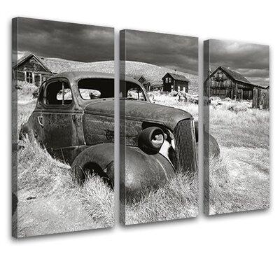 LanaKK Barn Treasure 3 Piece Photographic Print on Canvas Set
