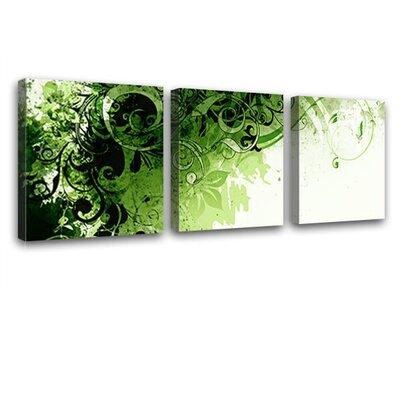 LanaKK Jungle Drum 3 Piece Graphic Art on Canvas Set