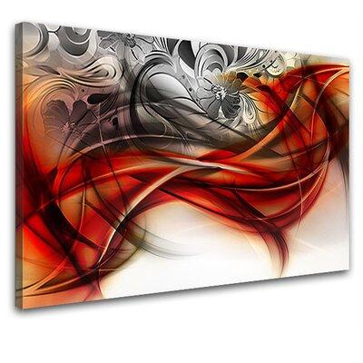 LanaKK Emotion Curvature Graphic Art on Canvas