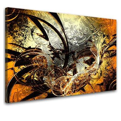 LanaKK Jungle Graph Graphic Art on Canvas