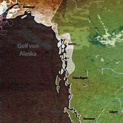 LanaKK World Map 3 Piece Graphic Art on Canvas Set