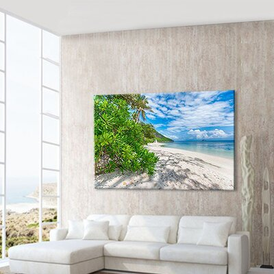 LanaKK Holiday Desire Sunglow Photographic Print on Canvas