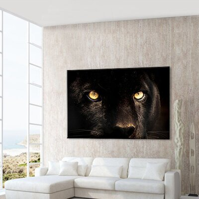 LanaKK Panther Photographic Print on Canvas