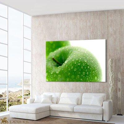LanaKK Apple Photographic Print on Canvas