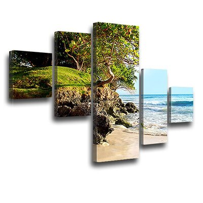 LanaKK Caribbean Island Photographic Print on Canvas Set