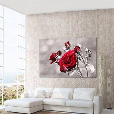 LanaKK Rose Photographic Print on Canvas