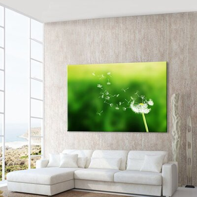 LanaKK Dandelion Photographic Print on Canvas