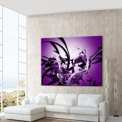 LanaKK Graph Graphic Art on Canvas