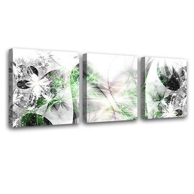 LanaKK Stars 3 Piece Graphic Art on Canvas Set