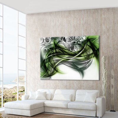 LanaKK Emotion Curvature Graphic Art on Canvas