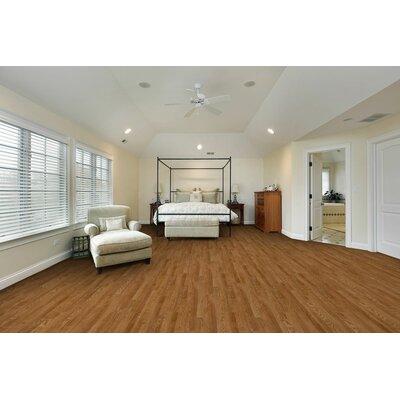 """Liberty 8"""" x 51"""" x 7mm Laminate Flooring in Hawkins Oak"""