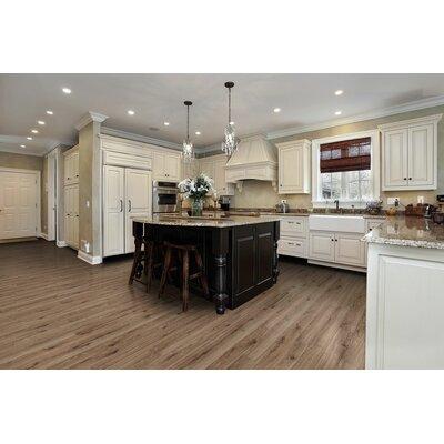 """Sanderlin Mountain 5"""" x 51"""" x 10mm Laminate Flooring in Sand Seasoned Oak"""