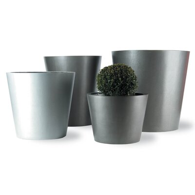 Capital Garden Products Geo Round Pot Planter