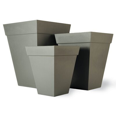 Capital Garden Products Geo Square Planter