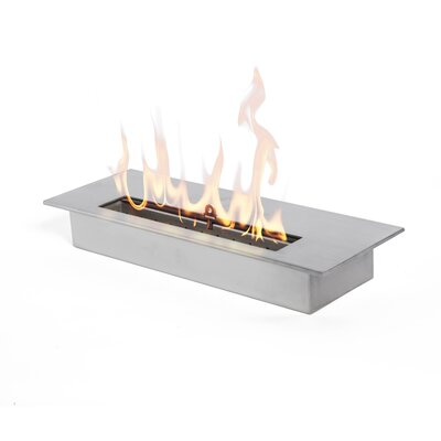 "13"" Bio-Ethanol Fire Pit Table Insert"
