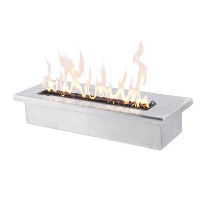 "16"" Bio-Ethanol Fire Pit Table Insert"