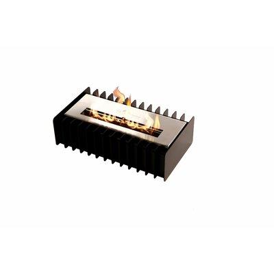 "Grate Kit Bio-Ethanol Fire Pit Table Insert Size: 4.7"" H x 16.8"" W x 9.4"" D"