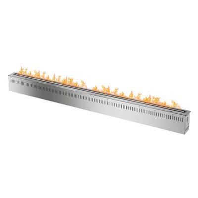 "72"" Smart Burner Bio-Ethanol Fire Pit Table Insert"
