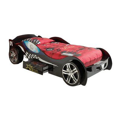 Haani Turbo Racer Car Bed with Storage