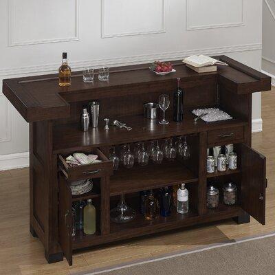 Gasper Bar with Wine Storage
