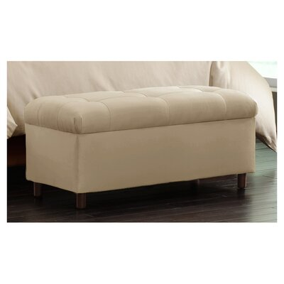 Nelson Tufted Upholstered Microdenier Storage Ottoman