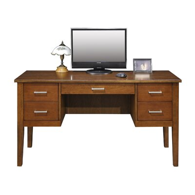 Eaton Desk Color: Brown Cherry