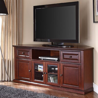 """Dye 60"""" TV Stand Color: Vintage Mahogany"""